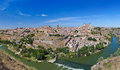 Panorama of Toledo Spain Stock Photos