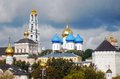Panorama of Trinity Sergius Lavra Stock Images