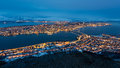 Panorama Tromso Royalty Free Stock Photo