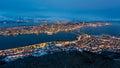 Panorama Tromso Royalty Free Stock Photo