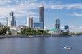 Panorama van yekaterinburg Royalty-vrije Stock Afbeeldingen