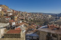 Panorama of Veliko Tarnovo in Bulgaria Royalty Free Stock Photo