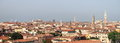 Panorama of venice panoramic view italy Stock Image