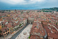 Panorama of Verona, Italy Royalty Free Stock Photo