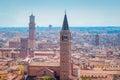 Panorama of Verona Royalty Free Stock Photo