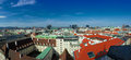 Panorama of Vienna Royalty Free Stock Photos