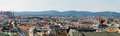 Panorama of Vienna Stock Image