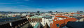 Panorama of Vienna Stock Photography