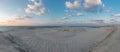 stock image of  Panorama View of the desert meeting the ocean in Dubai