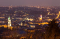 Panorama view, Lviv Royalty Free Stock Photography
