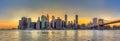 Panorama View Of New York City...