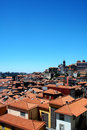 Panorama view from Oporto City Royalty Free Stock Photography