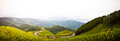 Panorama of view point Tung Bua Tong Royalty Free Stock Photo