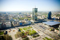 stock image of  Panorama of Warsaw