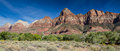 Panorama of the Watchman Royalty Free Stock Photo