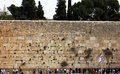 Panorama of western wall jerusalem israel Stock Photo