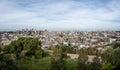 Panoramic Aerial view of Caxias do Sul City - Caxias do Sul, Rio Grande do Sul, Brazil Royalty Free Stock Photo