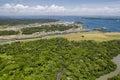 Panoramic Aerial View Of Gatun...