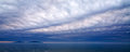 Panoramic landscape of lake balaton hungary nikon d Stock Photos