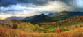 Panoramic landscape in the Utah mountains. Royalty Free Stock Photo