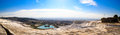 Panoramic Pamukkale View Royalty Free Stock Photo
