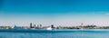 Panoramic Skyline Of Tallinn And Harbour, Coast Royalty Free Stock Photo