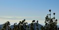 Panoramic from summit of Gran canaria, Canary islands Royalty Free Stock Photo
