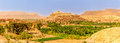 Panoramic view at the Ait Benhaddou village - Morocco