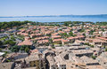 Panoramic view of Bolsena. Lazio. Italy. Royalty Free Stock Images