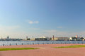 Panoramic view of city of St. Petersburg Royalty Free Stock Photography
