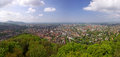 Panoramic view of Freiburg im Breisgau, Germany Royalty Free Stock Photo