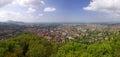 Panoramic view of Freiburg im Breisgau, Germany Royalty Free Stock Photo