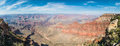 Panoramic view of Grand Canyon Royalty Free Stock Photo