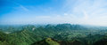Panoramic view of guilin hills Stock Image