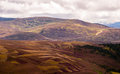 Panoramic view of the highlands Royalty Free Stock Photo