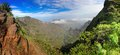 Panoramic view of island of santo antao cape verde cabo africa Royalty Free Stock Photo