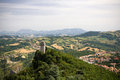 Panoramic view of Italy Royalty Free Stock Photography