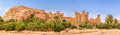 Panoramic view at the Kasbah Ait Benhaddou - Morocco
