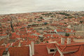 Panoramic view of Lisbon Royalty Free Stock Images
