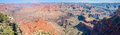 Panoramic view at Mohave Point in Grand Canyon Royalty Free Stock Photo