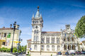 Panoramic view of municipality of sintra camara municipal de sintra portugal Stock Photo