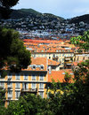 Panoramic view of Nice city Royalty Free Stock Image