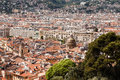 Panoramic view of Nice, France Royalty Free Stock Images
