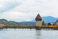 Panoramic view of old town of lucerne switzerland Stock Photo