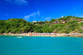Panoramic view of paradise beach João Fernandinho, Búzios, Brazil Stock Photography