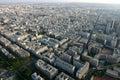 Panoramic view of Paris Stock Photo