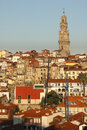 Panoramic view porto portugal a of the old town Stock Photos