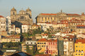 Panoramic view porto portugal a of the old town Stock Photography