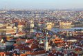 Panoramic view from Prague, Czech Republic Royalty Free Stock Photo