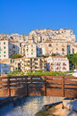 Panoramic view of rodi garganico puglia italy Stock Photo